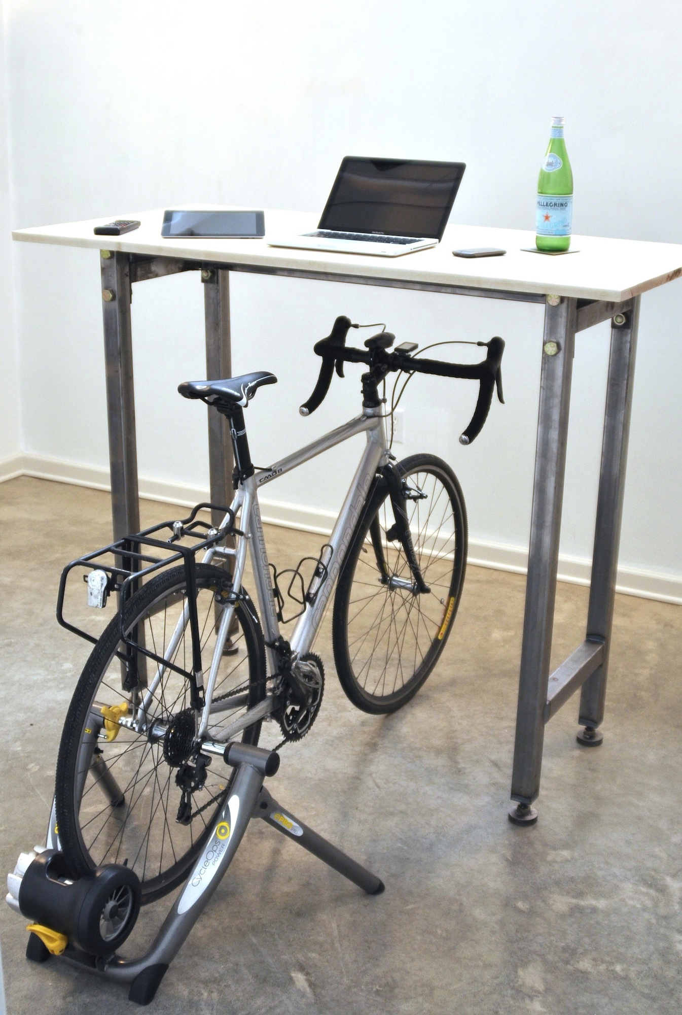 to desktop products exercise stay shape in bicycle while medium stationary desk of chair help computer bike you recumbent top work size office
