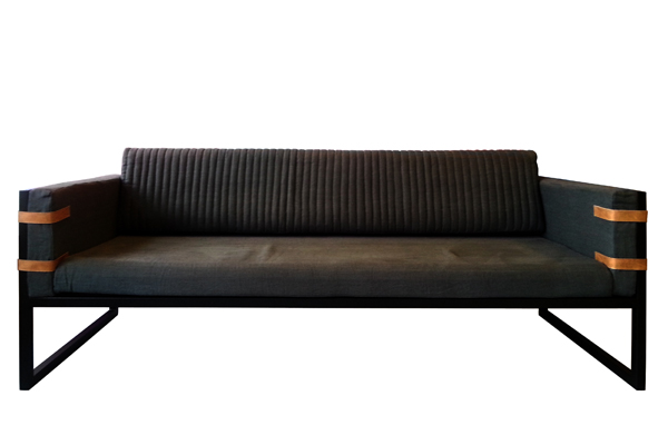 Sofa so good visi for Industrial couch