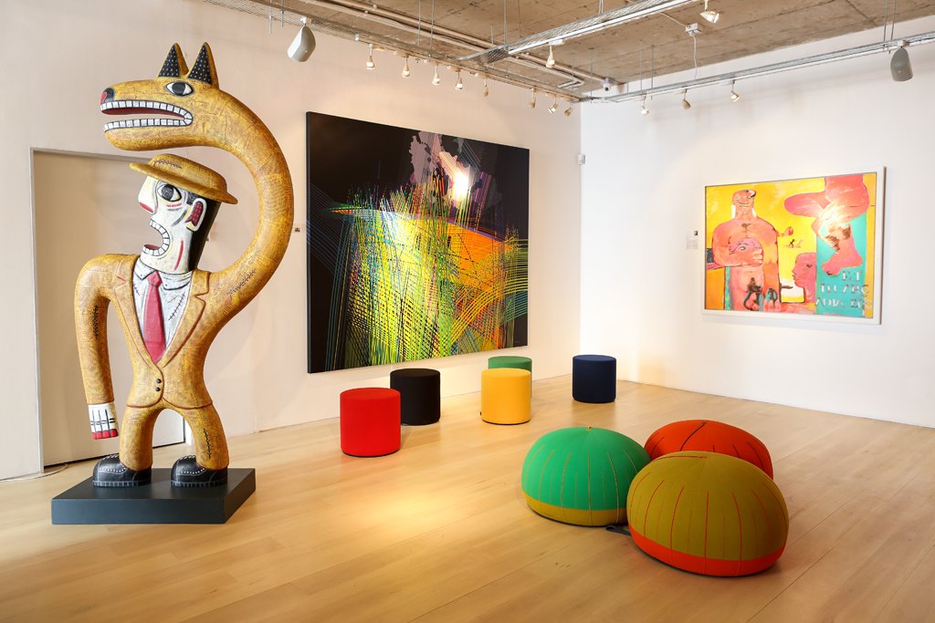 New Cube Gallery Launches Visi