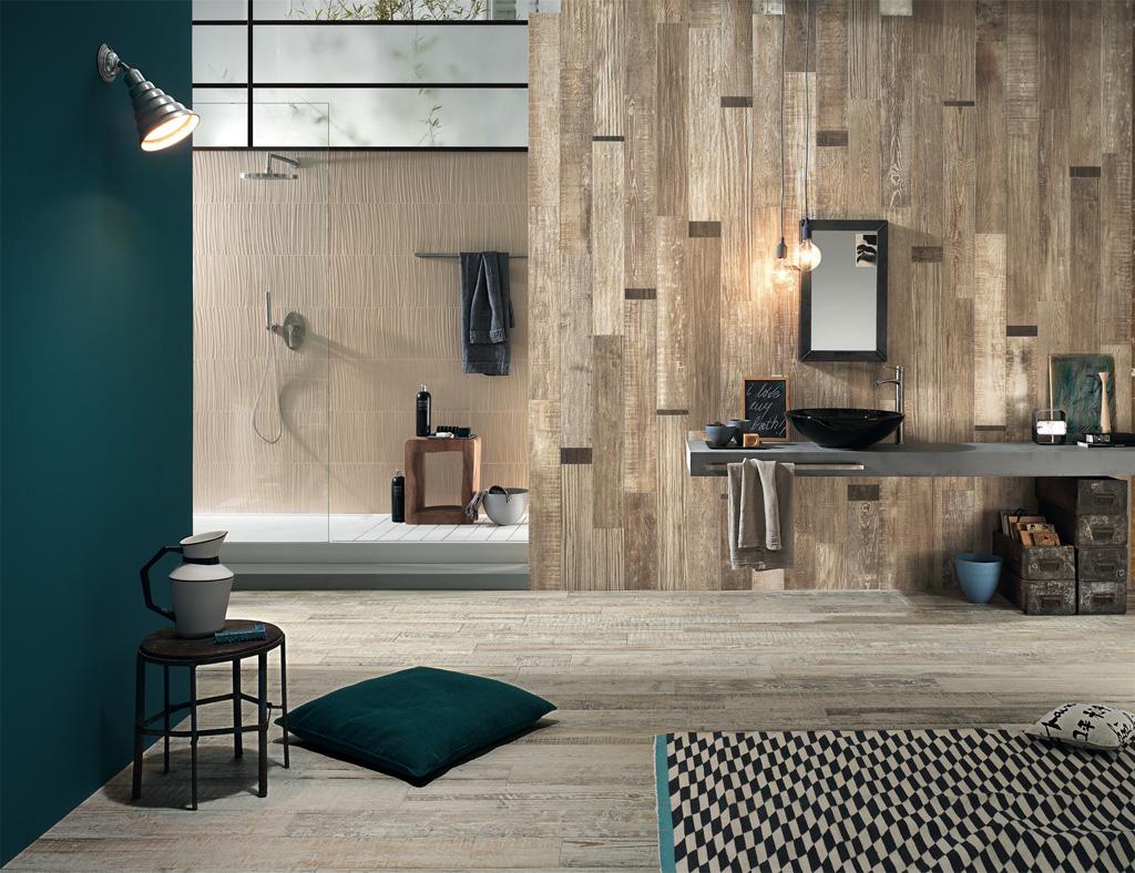 ... 1International Tile Trends 2014 : Scrapwood -