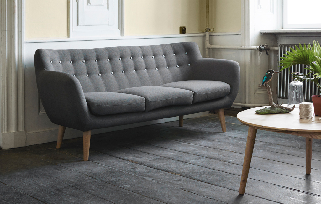 New Scandi line Sofa Store and Showroom Visi