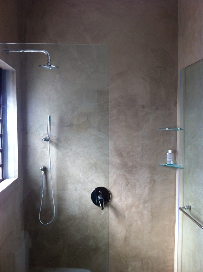 ... Cement Bathroom.1|5; Cemcreteu0027s SatinCrete Is A Beautifully Smooth,  Suede Like Wall Finish And Is Ideal For
