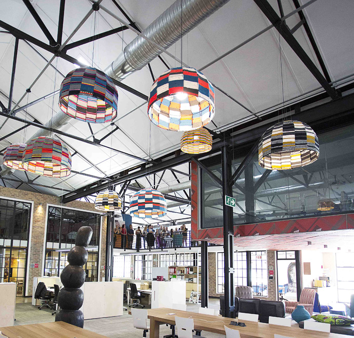 Visi Great Spaces Tour: Nando'S Central Kitchen - Visi
