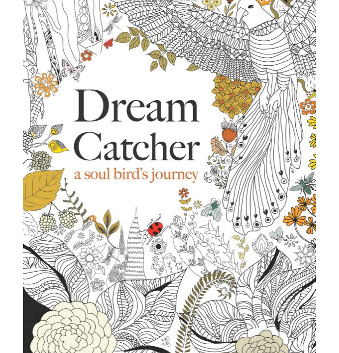 DreamCatcher 10 Art Therapy Anti Stress Colouring Book