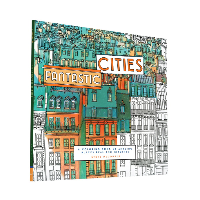 Color By Number For Adults Amazing Cities Around The World Nona Meyers R140