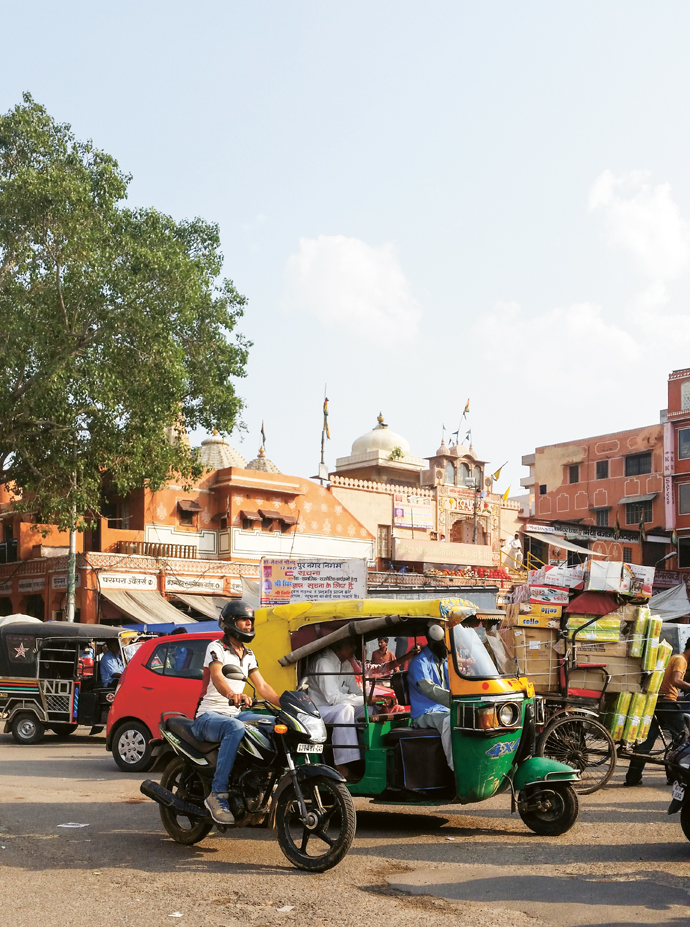 Jaipur-impressions---Traffic