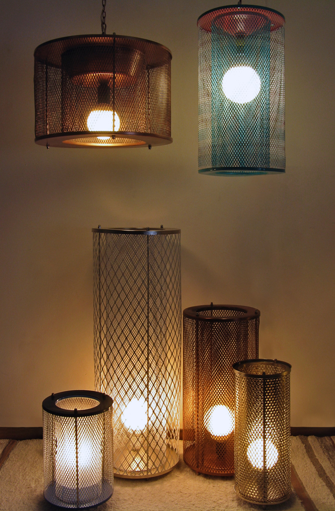 Stephen Pikus's Recycled Lights