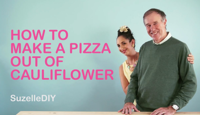 SuzelleDIY: How To Make a Cauliflower Pizza