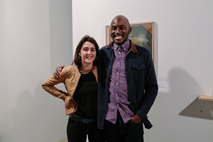 SMITH Studio's Amy Ellenbogen with Kunyalala Ndlovu