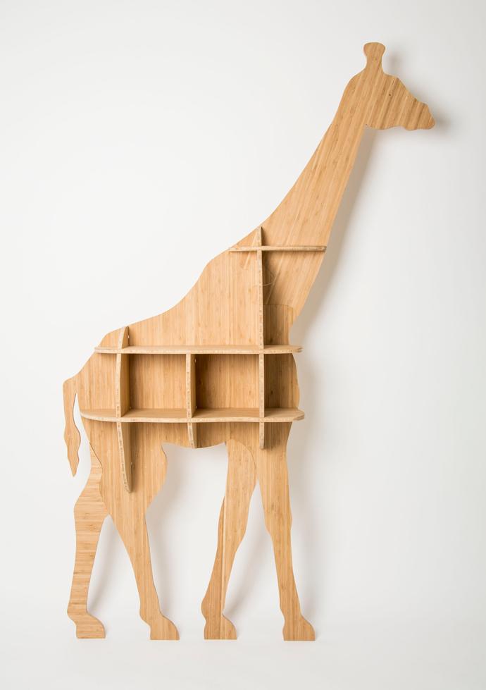 Head On Design's Giraffe Bookshelf