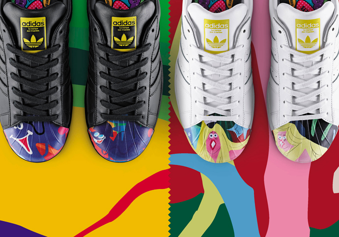 best sneakers b386d 0a17e adidas Originals X Pharrell Williams  The Superstar Supershell Collections