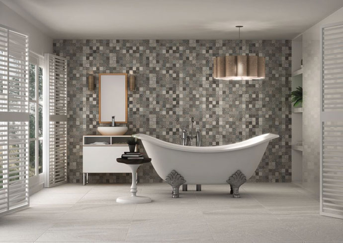 Womag 39 s haute heritage tile collection visi for Salle de bain 9m