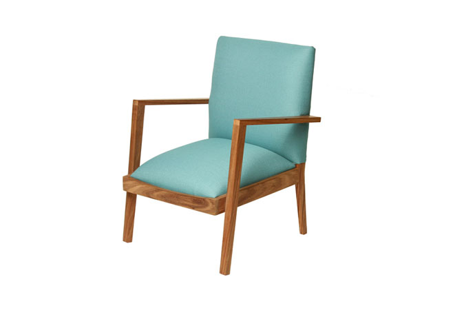 Lovell Occasional Chair in Walnut
