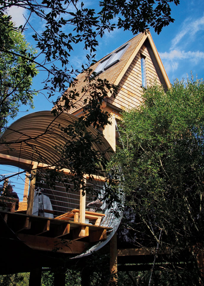 George clarke amazing spaces treehouse rental