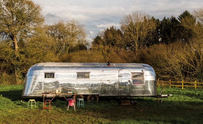 George Clarke\'s Amazing Spaces: Airstream Caravan - Visi
