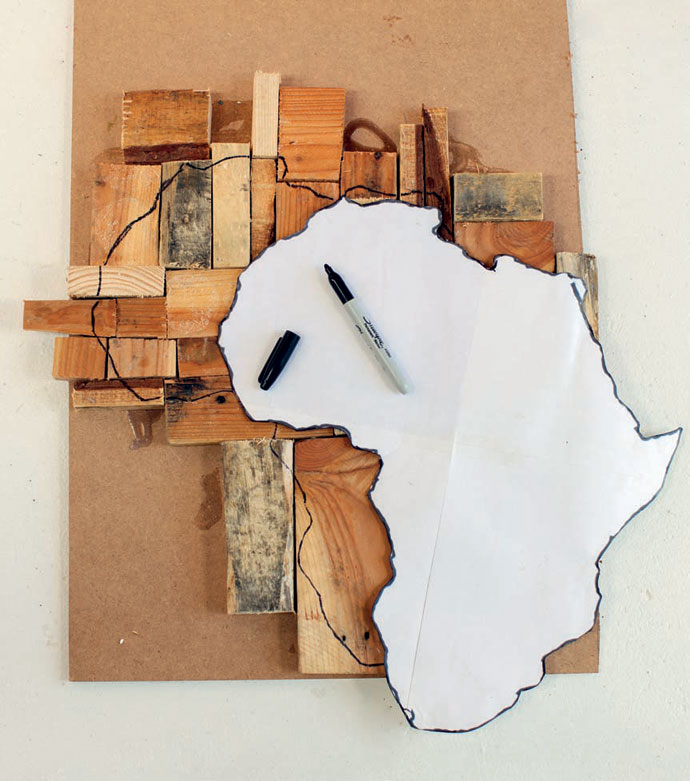 Diy Idea African Wall Art Diy Idea African Wall Art