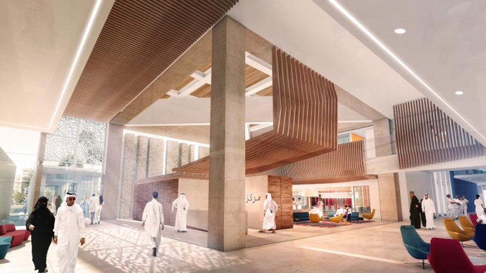 Health: Al Maha Centre, Qatar (HDR Rice Daubney)