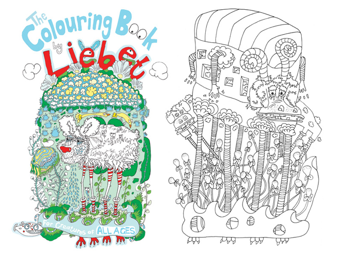 The Colouring Book by Liebet