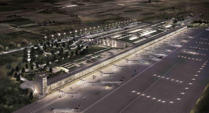 Infrastructure: Cukurova Regional Airport Complex, Turkey (Emre Arolat Architects)