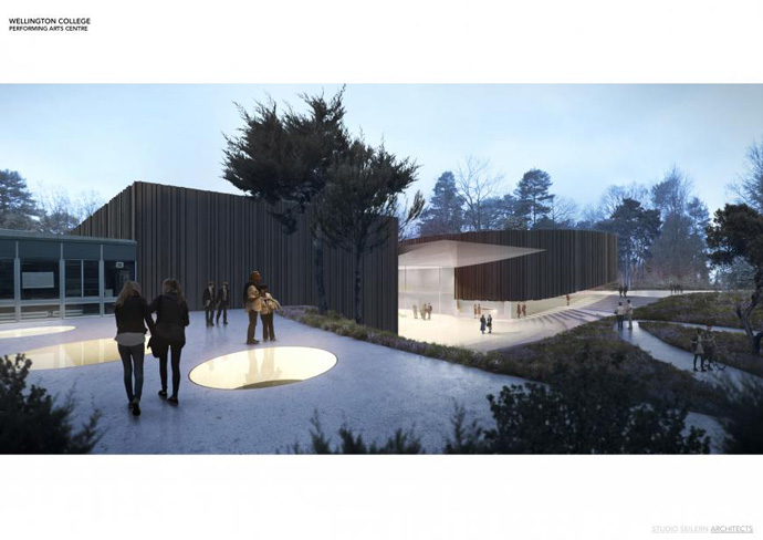 Education: Performing Arts Centre, UK (Studio Seilern Architects)