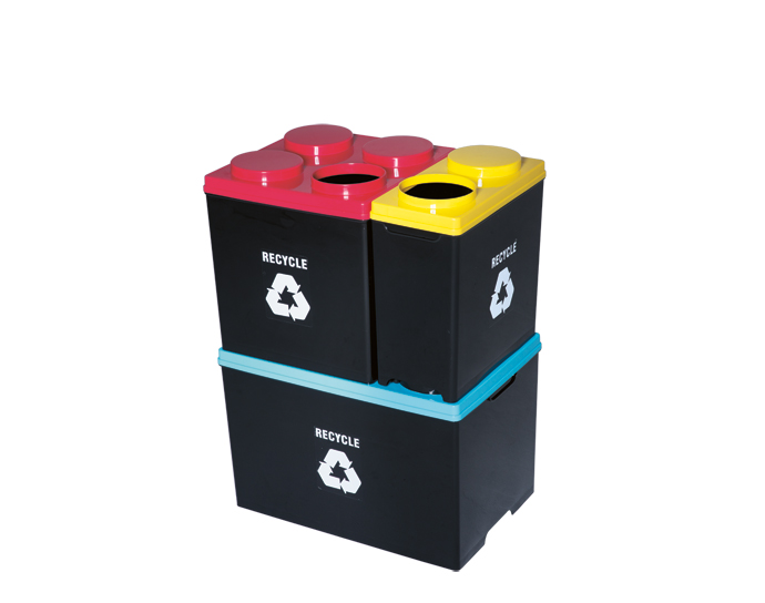 Kitchen Accessories 5 Recycling Bins Visi