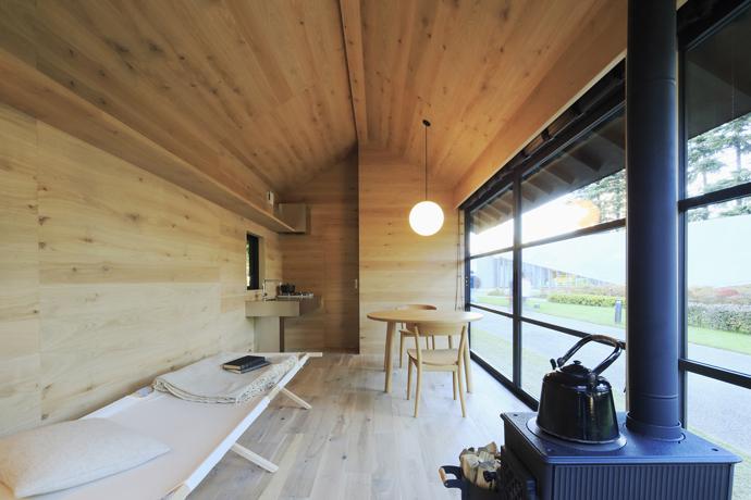Muji prefab huts visi - Madi casa pieghevole ...
