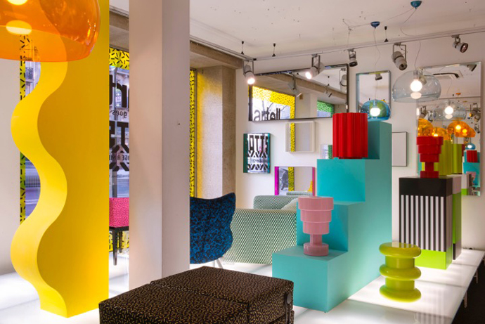 Kartell x ettore sottsass visi for Outlet arredamento milano