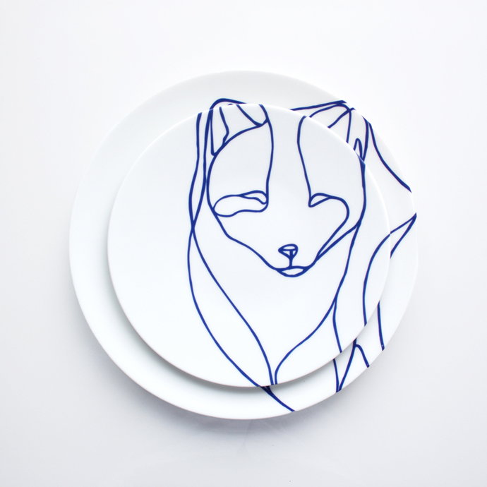 The Arctic Beasts Plates By Tes-Ted Studio