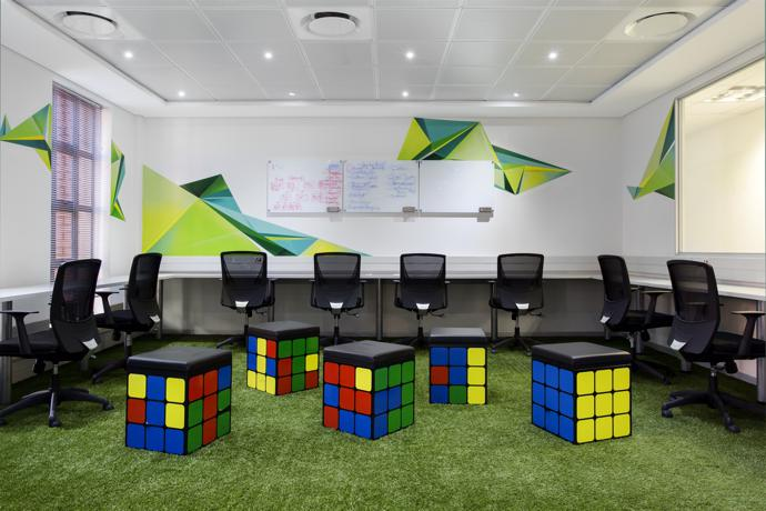 Cool Office Designs cool office design: britehouse - visi