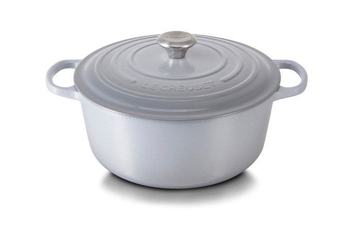 New Le Creuset Colour Mist Grey Visi