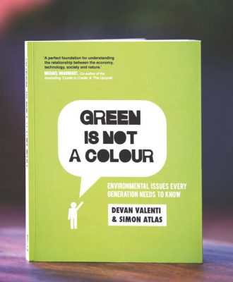 Green is not a colour