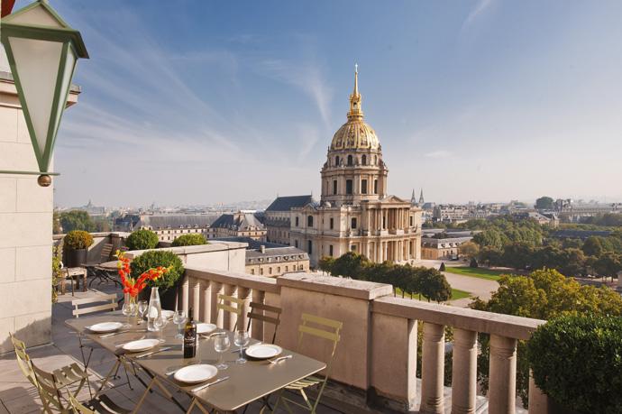 Extraordinary penthouses paris visi - Immobilier de luxe penthouse manhattan ...