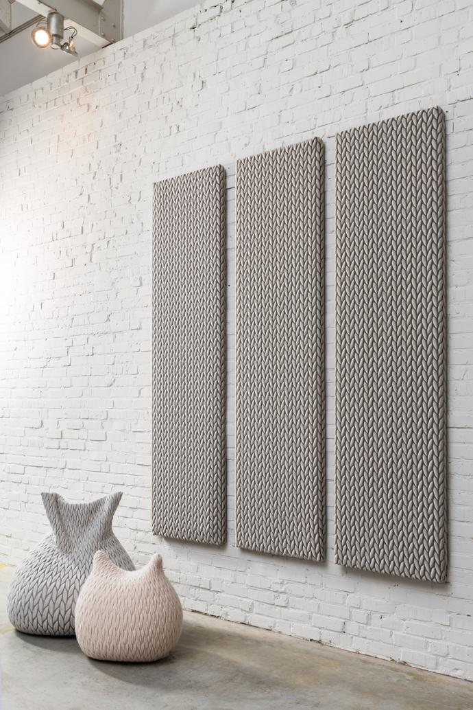 mohair sound reduction woven panels for recording studios and commercial use