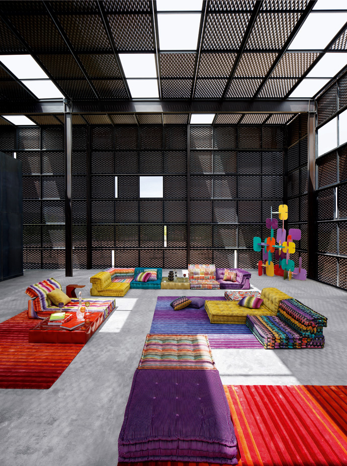 roche bobois mah jong  latest campaigns the collections
