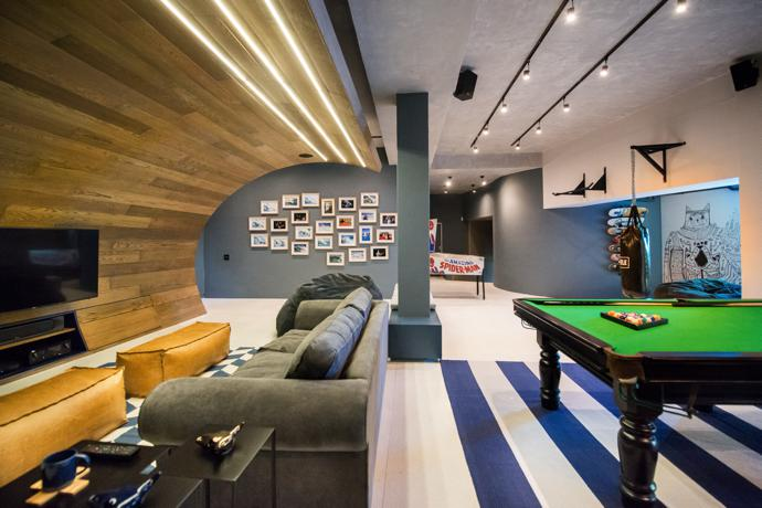 The Urban Man Cave : Fresnaye man cave visi