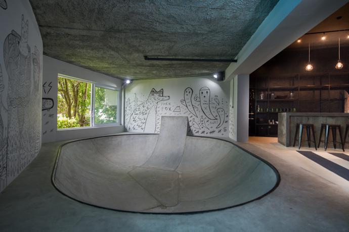 Man Cave Urban Jungle : Fresnaye man cave visi