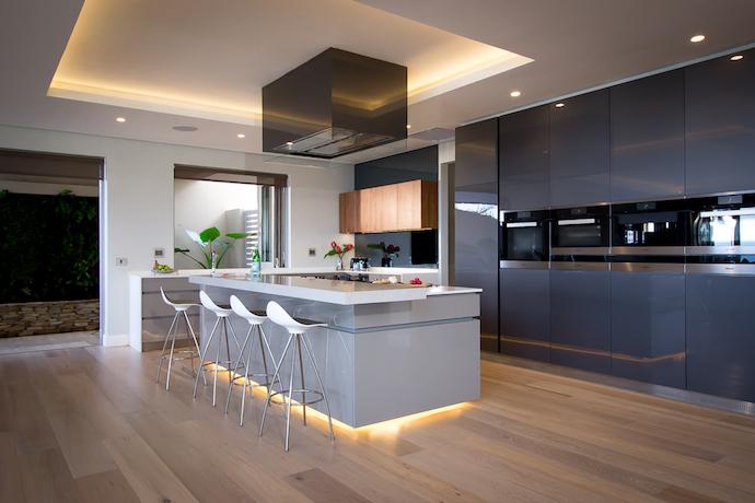Caesarstone kitchen of the year finalists visi for Kitchen designs durban