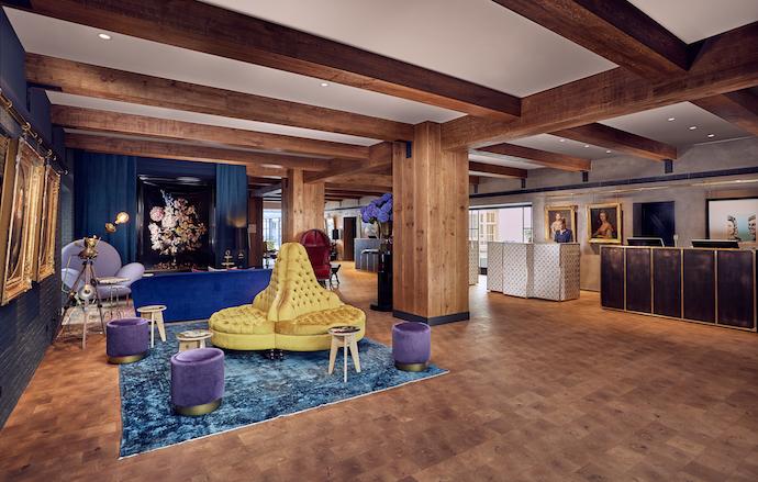 jacu strauss designs amsterdam hotel visi. Black Bedroom Furniture Sets. Home Design Ideas