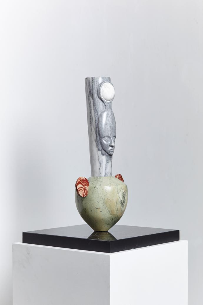 Daniella Mooney, Self Portrait as stone vessell