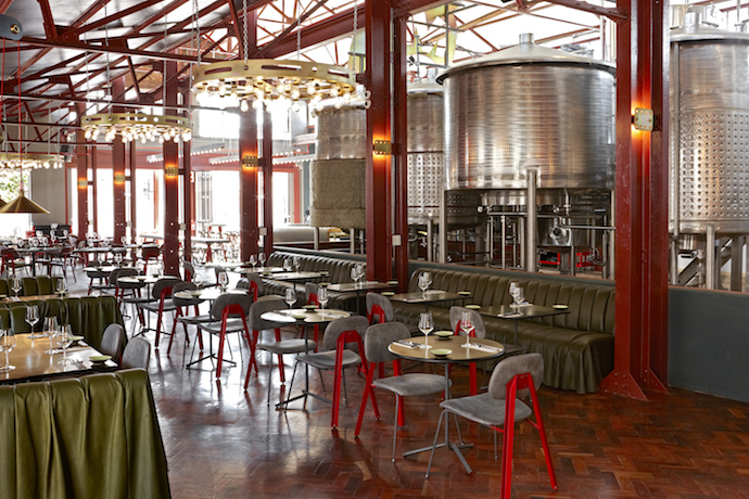 Cool spaces mad giant craft brewery visi