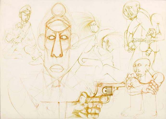 Untitled (Gun), 1985