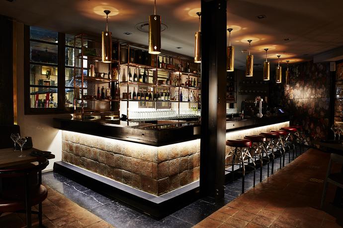 The bureau bar