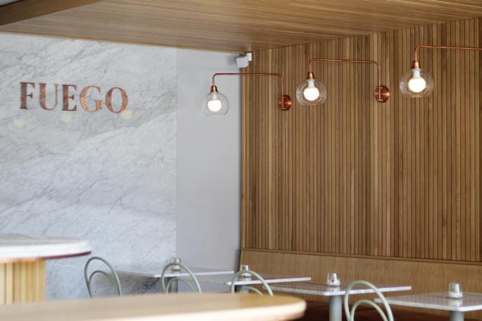 Bathroom Lights Cape Town cape town hot spot: fuego - visi