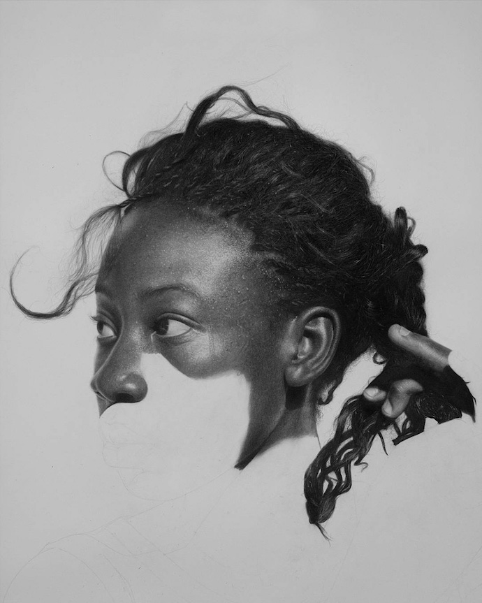Arinze stanleys breathtaking graphite drawings111