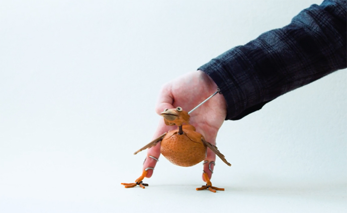 how to make dabchick puppet