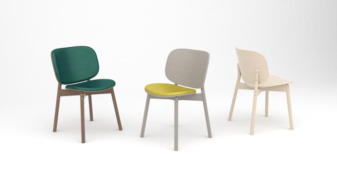 2. Sim-ply dining chairs 8K - designed by Haldane Martin
