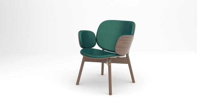 7. Sim-ply lounge chair 8K - designed by Haldane Martin