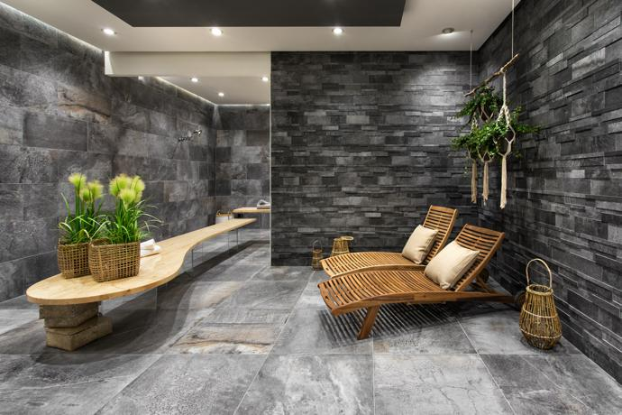 The Climb Range Is A Harmonious Balance Of Porcelain Stoneware Meeting Stone Effect Says Monika These Are Multifaceted Natural Looking Tiles That Come