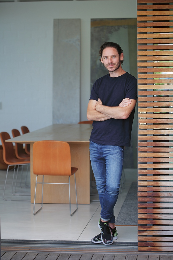 Furniture designer Piers Mansfield-Scaddan.
