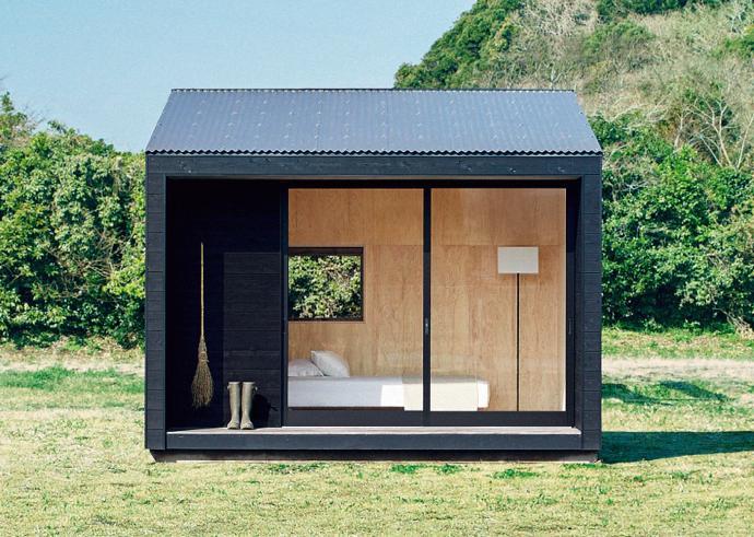 Awesome Compact Living: New MUJI Huts Are A Minimalistu0027s Dream